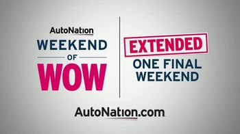 AutoNation Weekend of Wow TV Spot, 'Extended' - Thumbnail 8