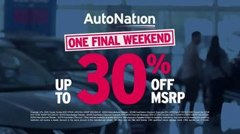 AutoNation Weekend of Wow TV Spot, 'Extended' - Thumbnail 5