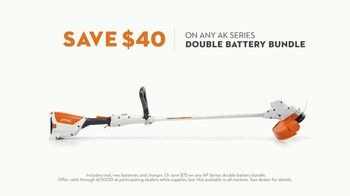 STIHL TV Spot, 'Real STIHL: Double Battery Bundle' - Thumbnail 6