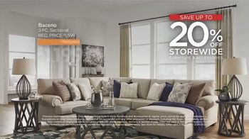 Ashley HomeStore Presidents Day Sale TV Spot, 'Extended: Hot Buys' Song by Midnight Riot - Thumbnail 3