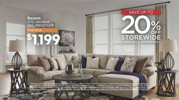 Ashley HomeStore Presidents Day Sale TV Spot, 'Extended: Hot Buys' Song by Midnight Riot - Thumbnail 4