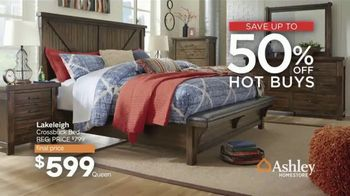 Ashley HomeStore Presidents Day Sale TV Spot, 'Extended: Hot Buys' Song by Midnight Riot - Thumbnail 5