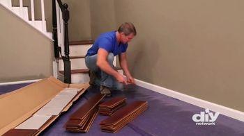 Lumber Liquidators TV Spot, 'DIY Network: Install Click Flooring'