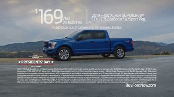 Ford Presidents Day Sales Event TV Spot, 'Take Command' [T2] - Thumbnail 7