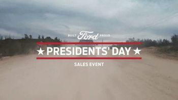 Ford Presidents Day Sales Event TV Spot, 'Take Command' [T2] - Thumbnail 3