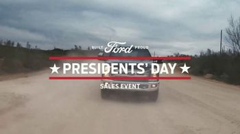 Ford Presidents Day Sales Event TV Spot, 'Take Command' [T2] - Thumbnail 4