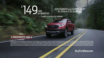 Ford Presidents Day Sales Event TV Spot, 'Take Command' [T2] - Thumbnail 6
