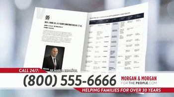 Morgan and Morgan Law Firm TV Spot, 'Hiring A Personal Injury Lawyer? Hire Experience' - Thumbnail 7