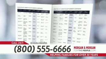 Morgan and Morgan Law Firm TV Spot, 'Hiring A Personal Injury Lawyer? Hire Experience' - Thumbnail 8