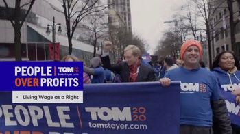 Tom Steyer 2020 TV Spot, 'People Over Profits' - Thumbnail 3