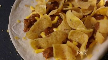 Sonic Drive-In Fritos Chili Cheese Jr. Wrap TV Spot, 'That's a Wrap' - Thumbnail 2