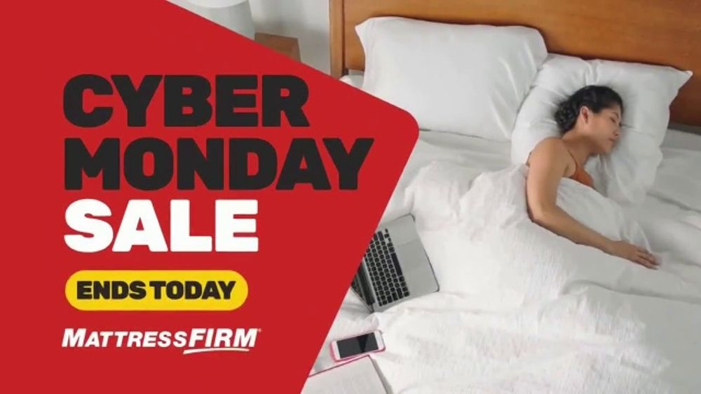 Mattress Firm Cyber Monday Sale TV Commercial, 'Weighted Blanket'