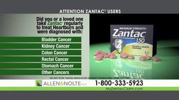 Allen & Nolte, PLLC TV Spot, 'Zantac Lawsuit' - Thumbnail 2