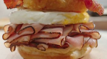 Arby's Brunch Sandwiches TV Spot, 'Flavors and Dinner Proportions'' - Thumbnail 1