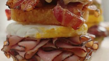 Arby's Brunch Sandwiches TV Spot, 'Flavors and Dinner Proportions'' - Thumbnail 3