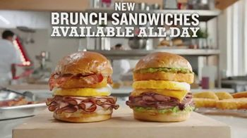Arby's Brunch Sandwiches TV Spot, 'Flavors and Dinner Proportions'' - Thumbnail 5