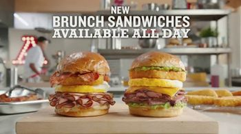 Arby's Brunch Sandwiches TV Spot, 'Flavors and Dinner Proportions'' - Thumbnail 6