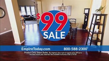 Empire Today $99 Sale TV Spot, 'Your Home Can Have an Entire New Look for the New Year'