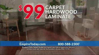 Empire Today $99 Sale TV Spot, 'Your Home Can Have an Entire New Look for the New Year' - Thumbnail 3