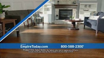 Empire Today $99 Sale TV Spot, 'Your Home Can Have an Entire New Look for the New Year' - Thumbnail 4
