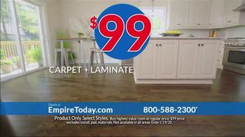 Empire Today $99 Sale TV Spot, 'Your Home Can Have an Entire New Look for the New Year' - Thumbnail 5