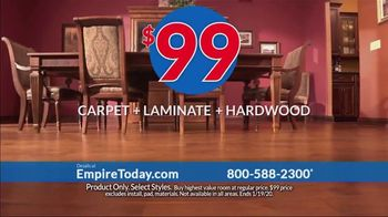 Empire Today $99 Sale TV Spot, 'Your Home Can Have an Entire New Look for the New Year' - Thumbnail 6
