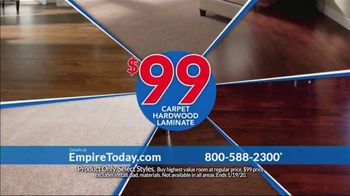 Empire Today $99 Sale TV Spot, 'Your Home Can Have an Entire New Look for the New Year' - Thumbnail 9
