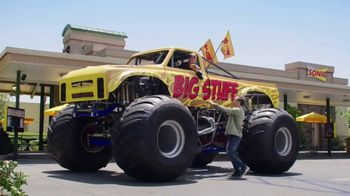 Sonic Drive-In Biggie Cheese TV Spot, 'Monster Truck' - 2602 commercial airings
