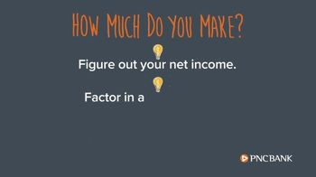 PNC Bank Financial Services TV Spot, 'Smart Sense Tip: Budgeting Your Money: How Much Do You Make' - Thumbnail 4