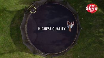 Springfree Trampoline Black Friday Sale TV Spot, 'Discover the Difference' - Thumbnail 7