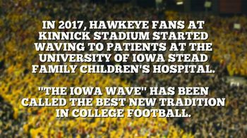 BTN LiveBIG TV Spot, 'Iowa Boosts the Morale of Their Pediatric Patients'