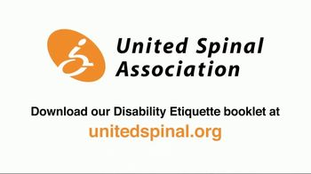United Spinal Association TV Spot, 'Disability Etiquette PSA: Invisible' - Thumbnail 10