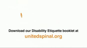 United Spinal Association TV Spot, 'Disability Etiquette PSA: Invisible' - Thumbnail 9