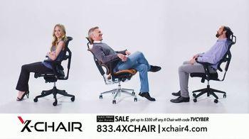 X-Chair Black Friday Cyber Monday Sale TV Spot, 'Nancy: $300 Off' - Thumbnail 10