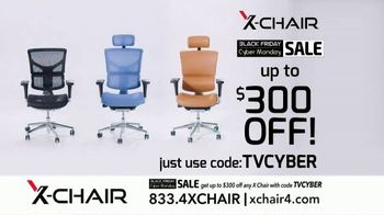 X-Chair Black Friday Cyber Monday Sale TV Spot, 'Nancy: $300 Off' - Thumbnail 9