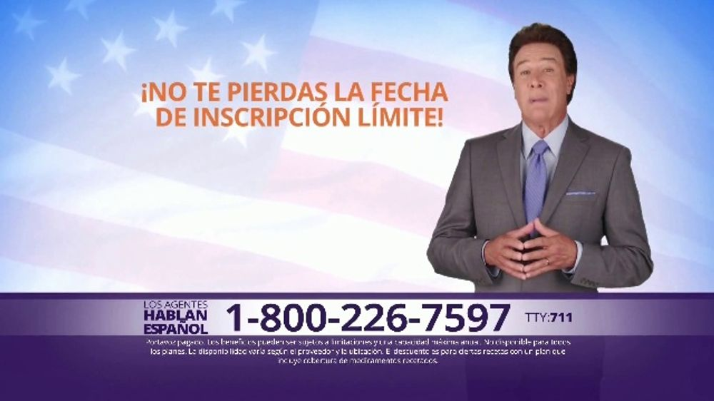 MedicareAdvantage.com TV Commercial, 'Beneficios gratis' con Fernando Allende