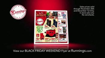 Runnings Black Friday Weekend TV Spot, 'Laser Blaster, Jewelry and Clothing'