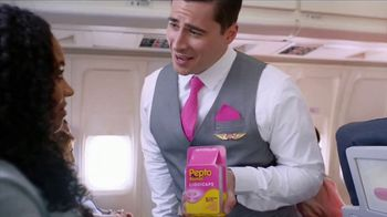 Pepto-Bismol Liquicaps TV Spot, 'Stomach Noises'