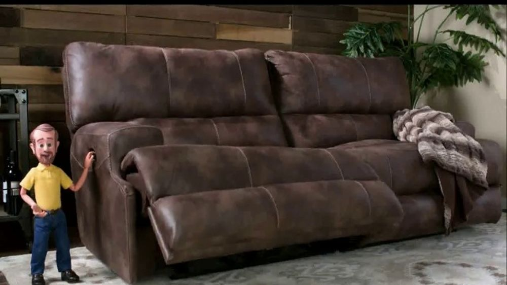 Bob's Discount Furniture TV Commercial, 'Gibson Power Reclining Sofa for Only $799'