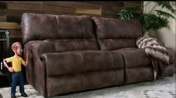 Bob's Discount Furniture TV Spot, 'Gibson Power Reclining Sofa for Only $799' - Thumbnail 1