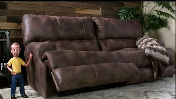 Bob's Discount Furniture TV Spot, 'Gibson Power Reclining Sofa for Only $799'