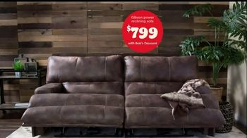 Bob's Discount Furniture TV Spot, 'Gibson Power Reclining Sofa for Only $799' - Thumbnail 5