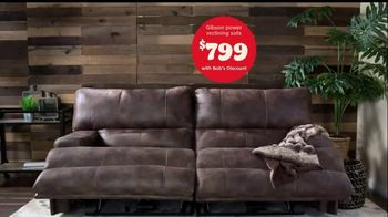 Bob's Discount Furniture TV Spot, 'Gibson Power Reclining Sofa for Only $799' - Thumbnail 6