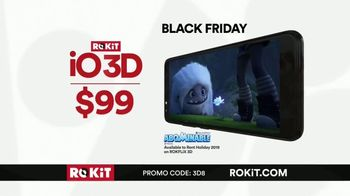 ROKiT Phones Black Friday TV Spot, '3D Without the Glasses'