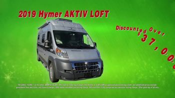 La Mesa RV Holiday RV Show TV Spot, '2019 Hymer Aktiv Loft: $433 a Month' - Thumbnail 5