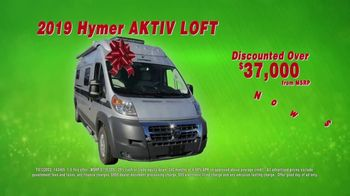 La Mesa RV Holiday RV Show TV Spot, '2019 Hymer Aktiv Loft: $433 a Month' - Thumbnail 6
