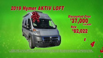 La Mesa RV Holiday RV Show TV Spot, '2019 Hymer Aktiv Loft: $433 a Month' - Thumbnail 7