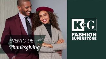 K&G Fashion Superstore Evento de Thanksgiving TV Spot, 'Sacos, trajes y calzado' [Spanish] - Thumbnail 2