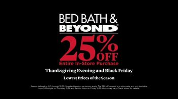 Bed Bath & Beyond Black Friday TV Spot, 'For the House: 25% Off' - Thumbnail 9