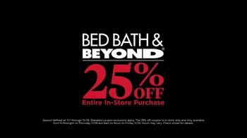 Bed Bath & Beyond Black Friday TV Spot, 'For the House: 25 Percent Off' - Thumbnail 8
